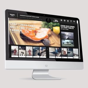 Web Design - Skuna Bay Salmon